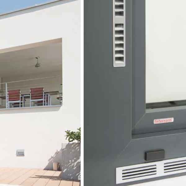 Ventilazione meccanica Internorm, credit www.internorm.com